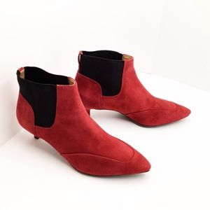 {Naturalizer} Piper Bootie Cranberry Red